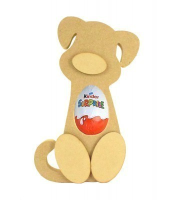 18mm Freestanding Dog Kinder Egg Holder with 3D Nose & Feet