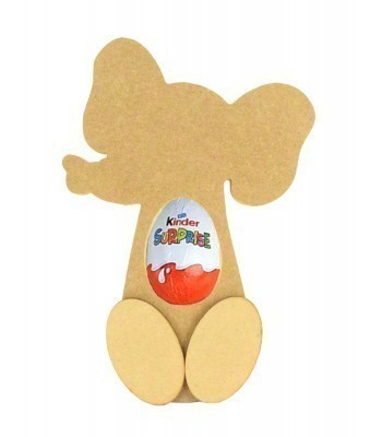 18mm Freestanding Elephant Kinder Egg Holder with 3D Feet