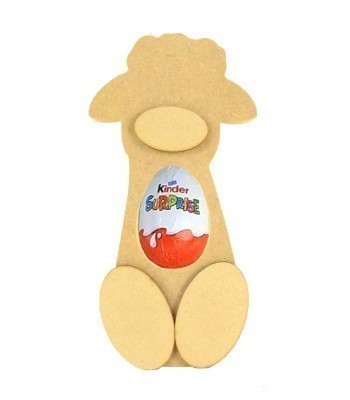 18mm Freestanding Sheep Kinder Egg Holder with 3D Nose & Feet