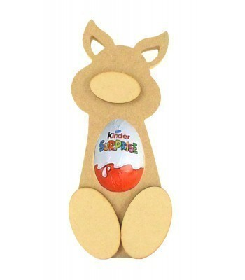 18mm Freestanding Pig Kinder Egg Holder with 3D Nose & Feet