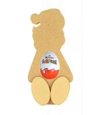 18mm Freestanding Santa Kinder Egg Holder with 3D Feet