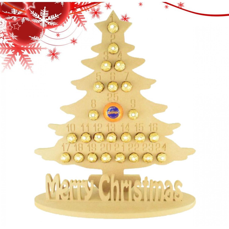 Advent calendar advent calendar XXL advent calendar XL fir tree Christmas tree advent calendar children wood advent calendar bag