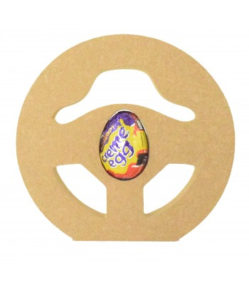 18mm Freestanding Easter CREME EGG Holder - Gaming Steering Wheel