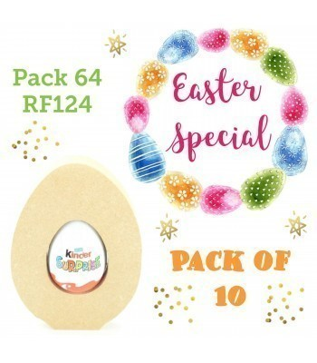 Special Offer 18mm Freestanding Easter Egg KINDER EGG Holder - Pack of 10