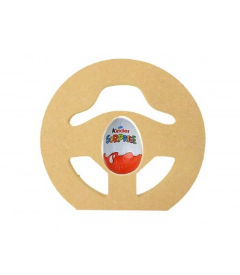 18mm Freestanding Easter KINDER EGG Holder - Gaming Steering Wheel