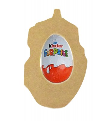 18mm Freestanding Easter KINDER EGG Holder - Computer Mouse