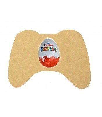 18mm Freestanding Easter KINDER EGG Holder - Gaming Controller (Design 1)