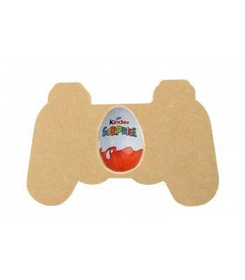 18mm Freestanding Easter KINDER EGG Holder - Gaming Controller (Design 2)