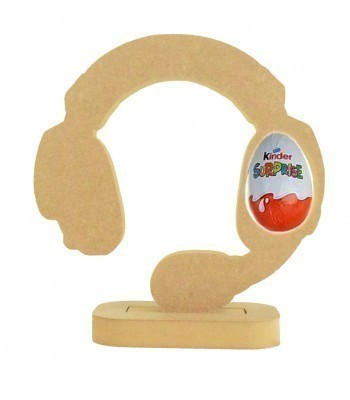 18mm Freestanding Easter KINDER EGG Holder - Gaming Headset on a Stand