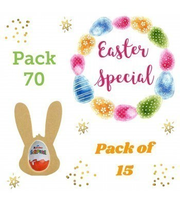 Special Offer 18mm Freestanding MINI Easter Rabbit Head KINDER EGG Holders - Pack of 15