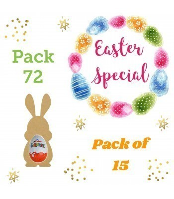 Special Offer 18mm Freestanding MINI Easter Rabbit (Design 3) KINDER EGG Holders - Pack of 15