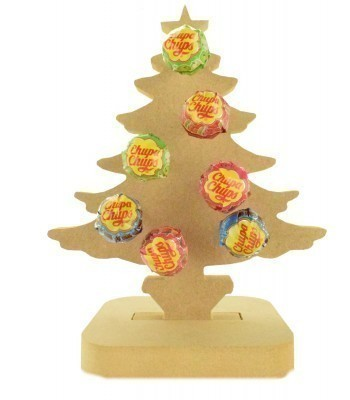 18mm Freestanding Christmas Tree Lolly Pop Holder on a Stand