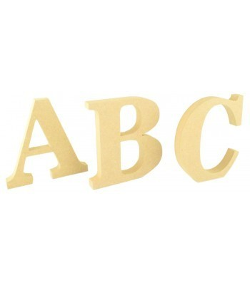 18mm Freestanding wooden Letters - BT NEWS