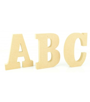 18mm Freestanding wooden Letters - CLARENDON