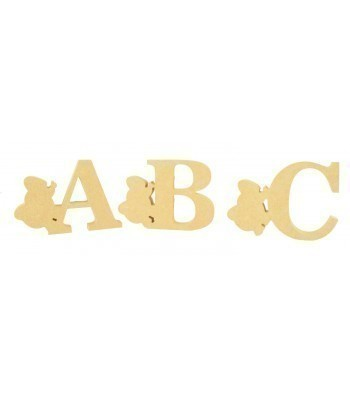 18mm Freestanding Wooden Elephant Themed Letters - BT NEWS