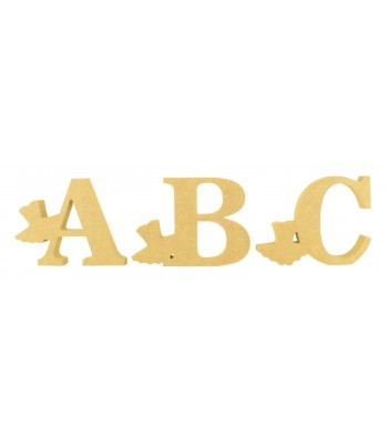 18mm Freestanding Wooden Ballet Tutu Themed Letters - BT NEWS