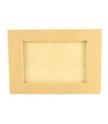 18mm Freestanding MDF 6X4 Photo Frame with Glass