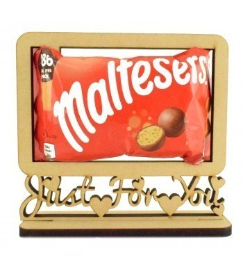 6mm 'Maltesers Just For You' Maltesers Chocolates Holder on a Stand