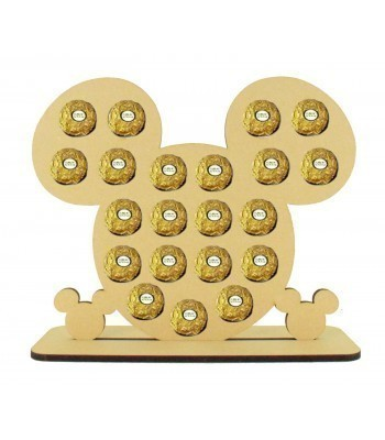 6mm Mouse Head Ferrero Rocher Confectionery Holder