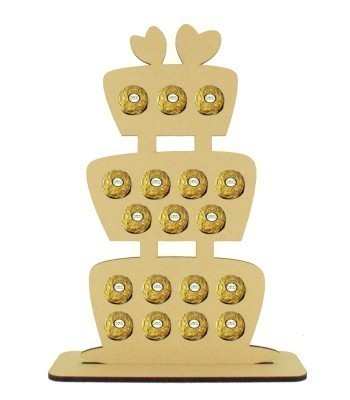 6mm Wedding Cake Ferrero Rocher Confectionery Holder