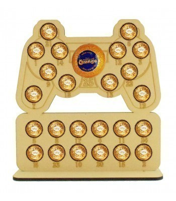 6mm Playstation Controller Chocolate Orange and Ferrero Rocher Holder Advent Calendar
