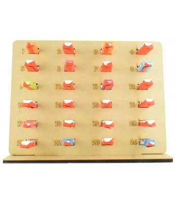6mm Kinder Chocolate Bars Holder Advent Calendar