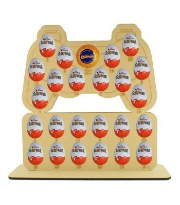 6mm Playstation Controller Chocolate Orange & Kinder Egg Holder Advent Calendar on a Stand