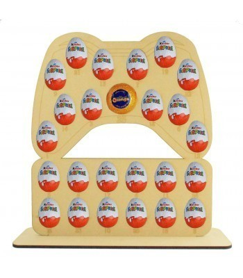 6mm X-Box Controller Chocolate Orange & Kinder Egg Holder Advent Calendar on a Stand