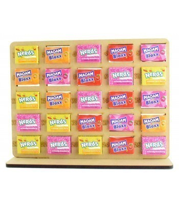 6mm Maoam Bloxx & Nerds Candy Sweets Holder Advent Calendar