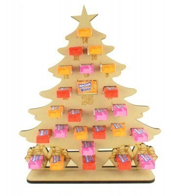6mm Maoam Bloxx Sweets Holder Advent Calendar - Christmas Tree