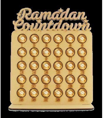 6mm Ramadan Countdown Ferrero Rocher Confectionery Holder