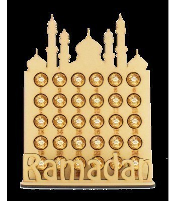 6mm Ramadan Temple Countdown Ferrero Rocher Confectionery Holder