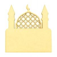 Laser Cut Blank Temple Plaque - Design 2