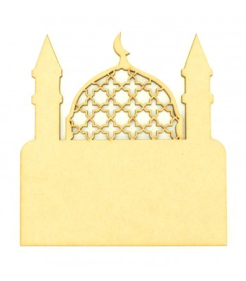 Laser Cut Blank Temple Plaque - Design 2