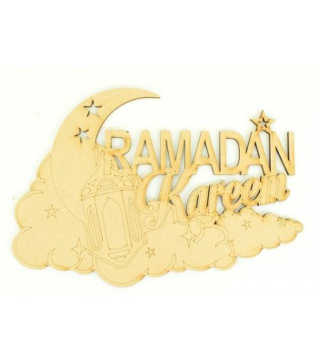 Laser Cut 'Ramadan Kareem' Quite Sign