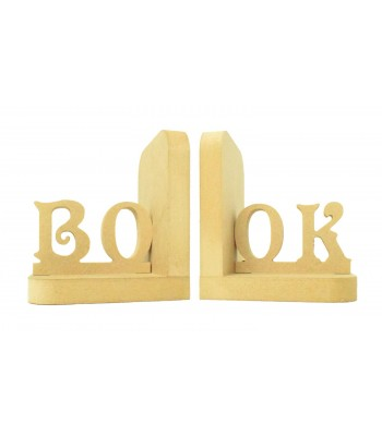 18mm Freestanding MDF 'BOOK' Pair of Bookends