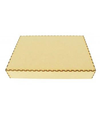 Laser Cut Box Size 4 Lid Only - No Box