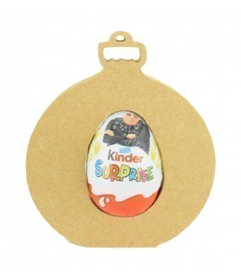 18mm Freestanding Christmas Bauble Kinder Egg Holder