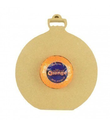 18mm Freestanding Christmas Bauble Chocolate Orange Holder
