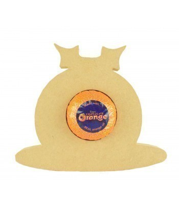 18mm Freestanding Christmas Pudding Chocolate Orange Holder