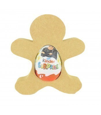 18mm Freestanding Christmas Gingerbread Kinder Egg Holder