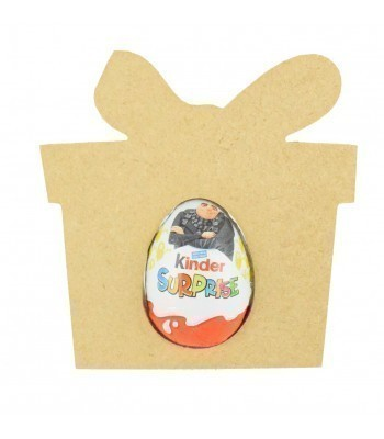 Kinder Egg Holder Blank Shape Mouse with Bow Bulk Buy Easter Egg Holder Gift