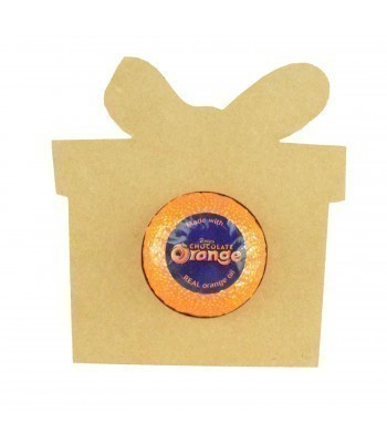 18mm Freestanding Christmas Present Chocolate Orange Holder