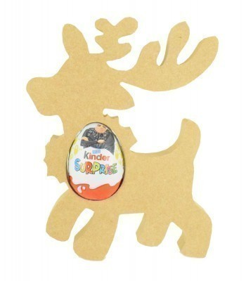 18mm Freestanding Christmas Reindeer Kinder Egg Holder