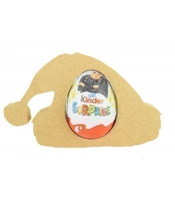 18mm Freestanding Christmas Hat Kinder Egg Holder