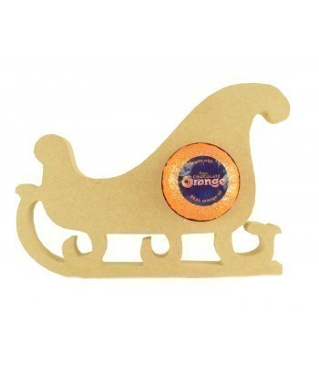 18mm Freestanding Christmas Sleigh Chocolate Orange Holder