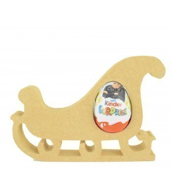 18mm Freestanding Christmas Sleigh Kinder Egg Holder