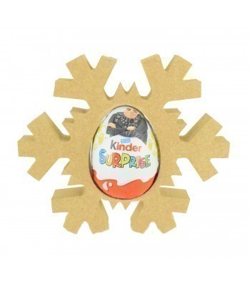 18mm Freestanding Christmas Snowflake Kinder Egg Holder