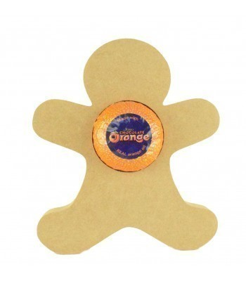 18mm Freestanding Christmas Gingerbread Man Chocolate Orange Holder