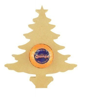 18mm Freestanding Christmas Tree Chocolate Orange Holder